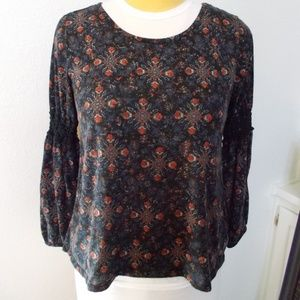 Faded Glory long sleeve top size L